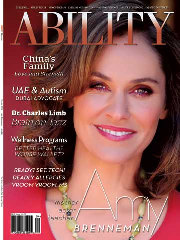 Amy Brenneman Issue