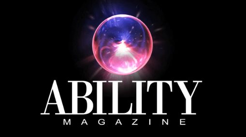 ABILITY Magazine with crystal ball image