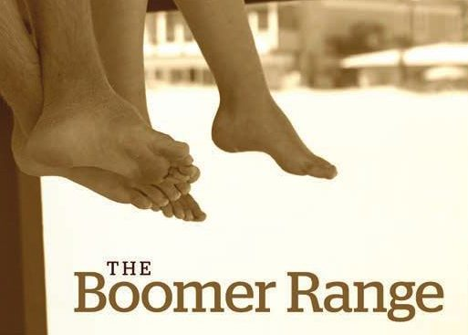 The Boomer Range: Image of people's legs dangling from a dock over water