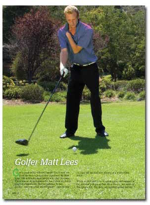 Matt Lees - One Handed Golf