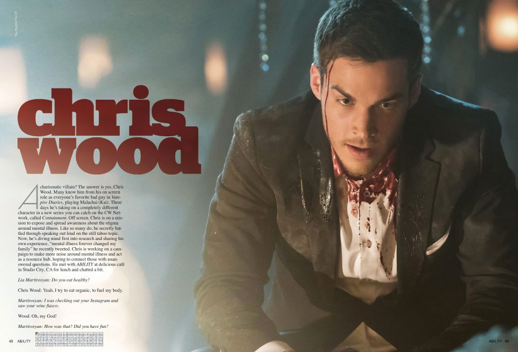 Chris Wood Interview