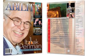 Image of Itzhak Perlman Cover and Table of Contents