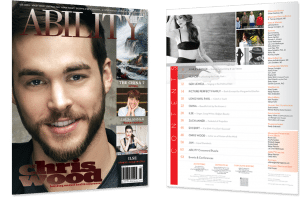 Image of Chris Wood Issue Cover and Table of Contents
