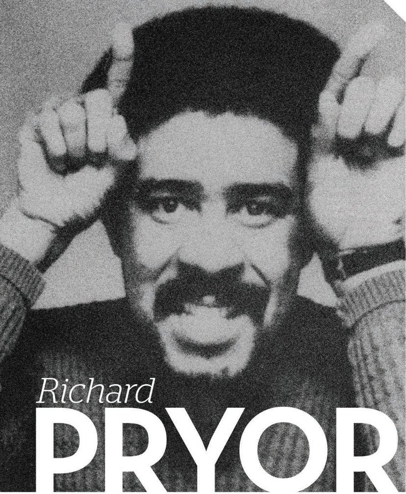 Richard Pryor makes devil horns