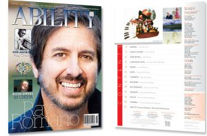Ray Romano Issue Cover and Table of Contents
