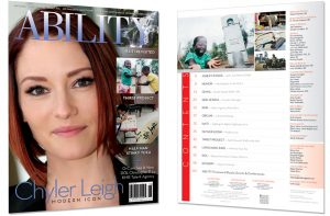 Chyler Leigh and table of contents