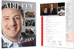 Isaac Lidsky Issue Cover and Table of Contents