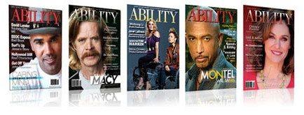Covers of ABIITY Magazine