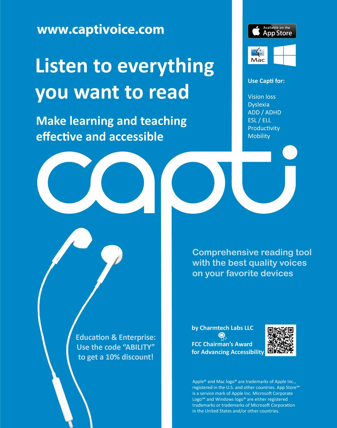 Capti - Listen to everything you want to read