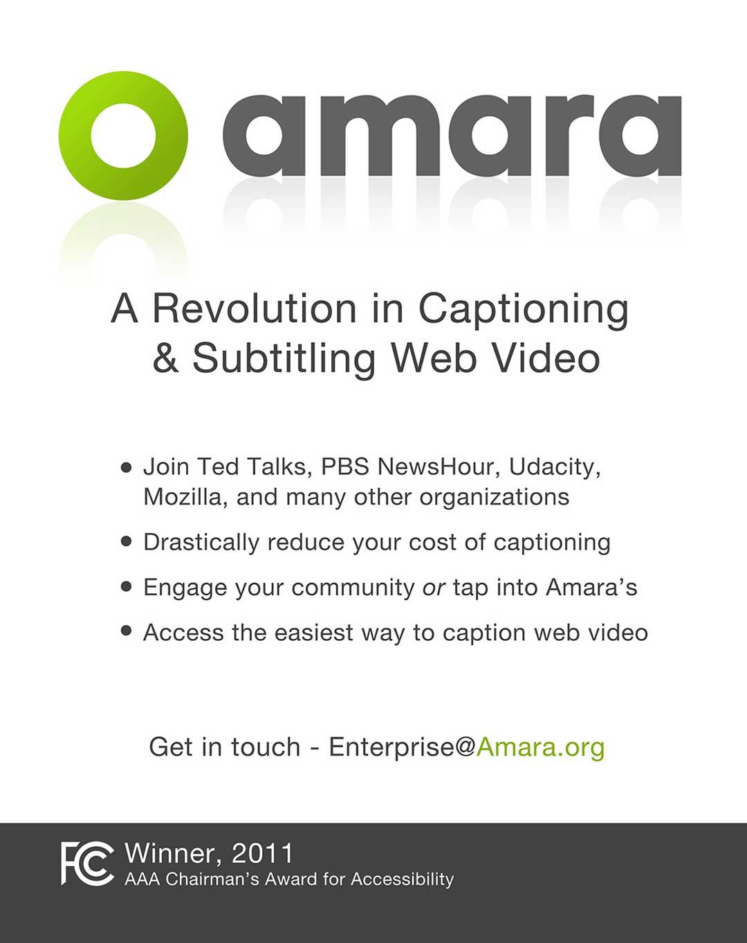 amara - A revolution in subtitling