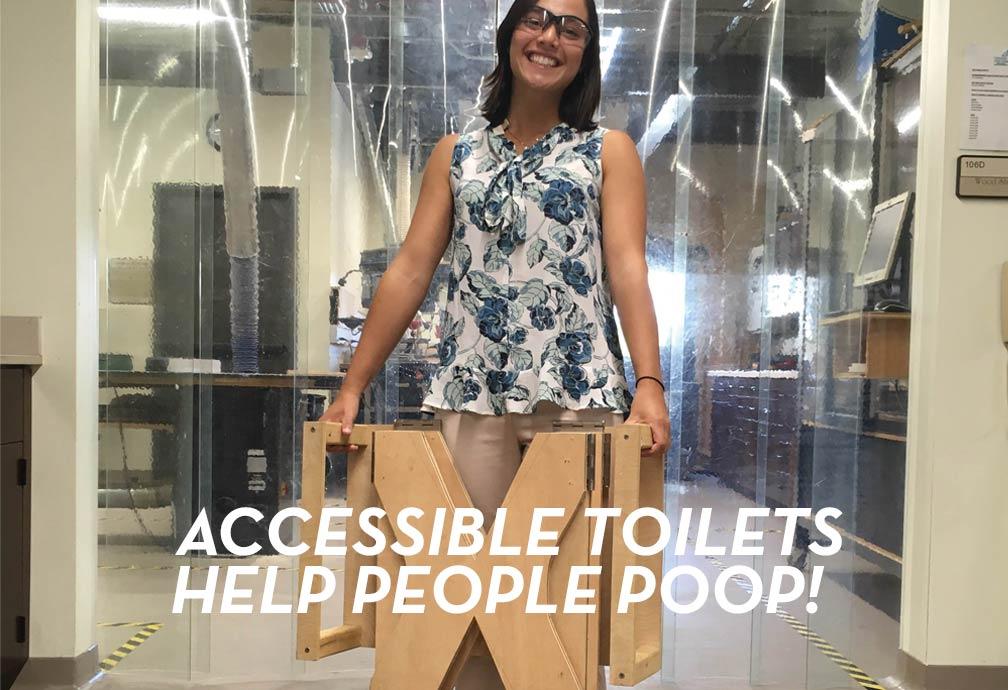 Accessible Toilet design