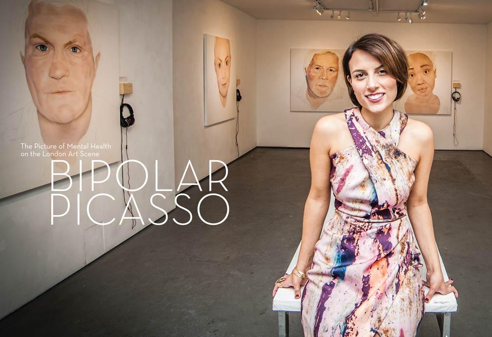 Artist Andrea Tyrimos Bipolar Picasso exhibition