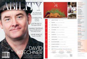 David Koechner cover TOC