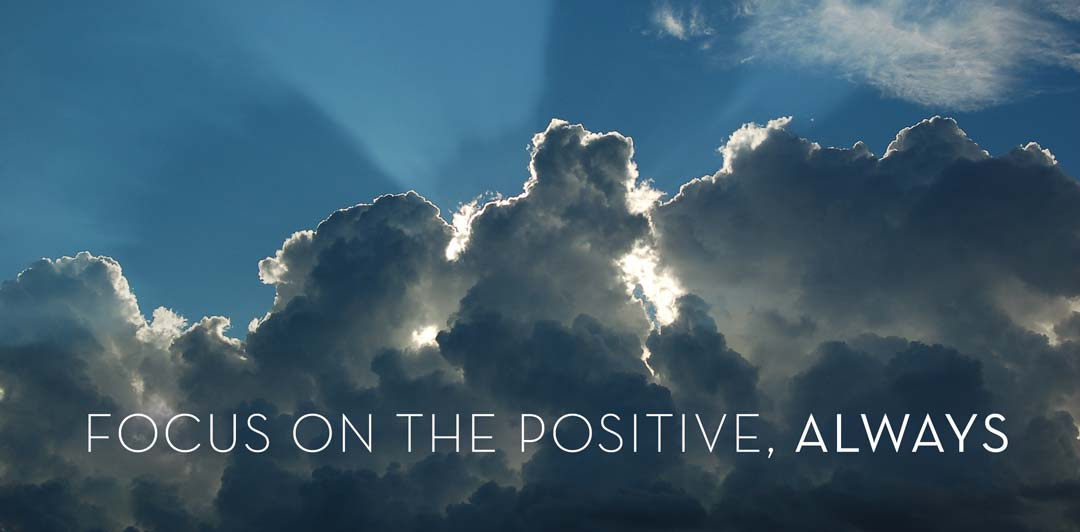 Geri Jewell focus on the positive, always. Imat3 or sun behind dark clouds