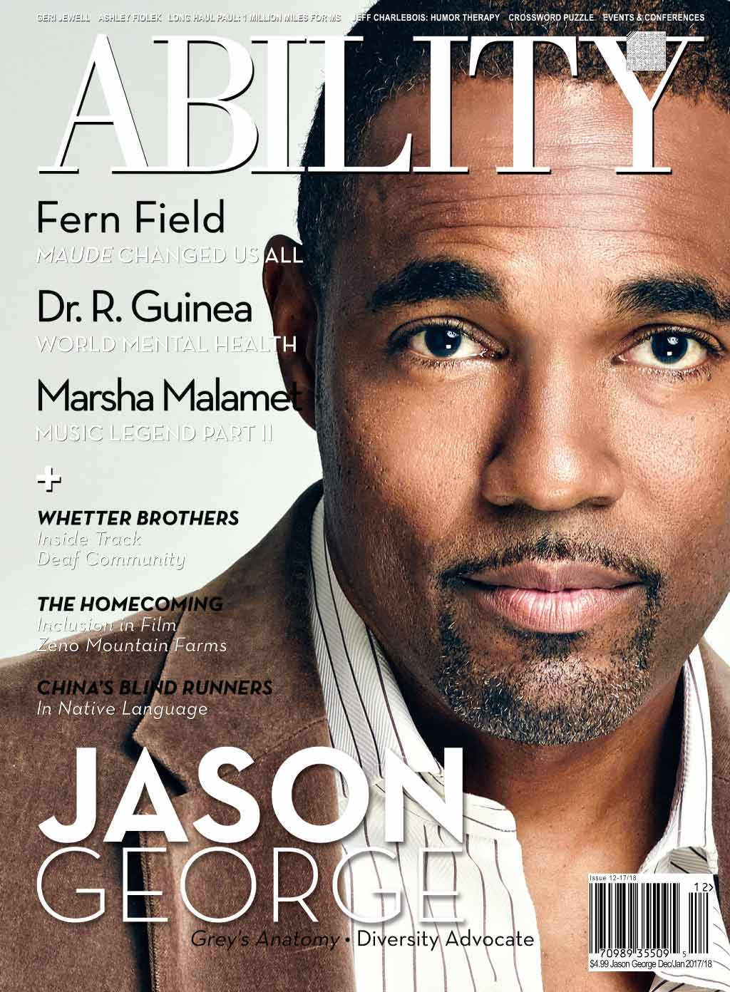 Jason George Issue