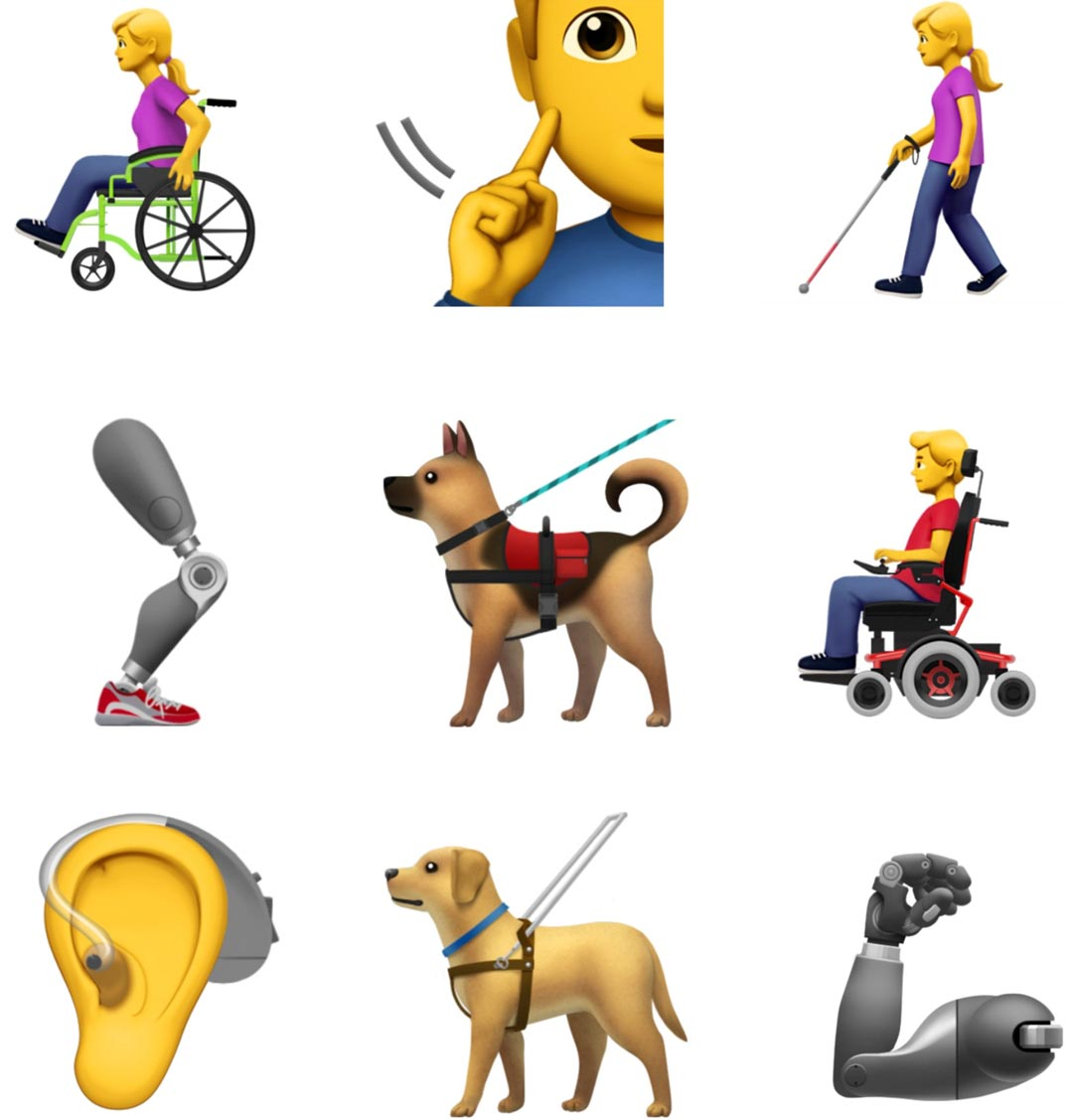 emojis with disabilities