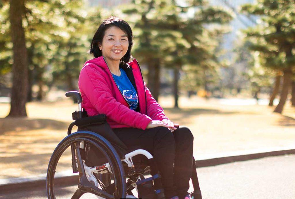 Aki Taguchi, Director, Paralympian Association of Japan