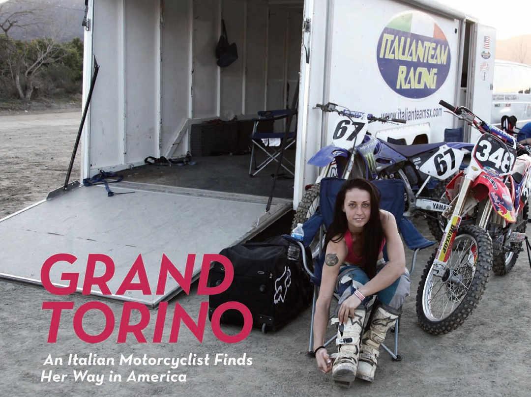 Eleonora Rivetti - Grand Torino - an Italian Motorcyclist Finds Her Way in America