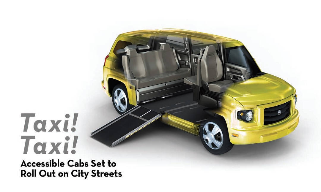 Taxi! Taxi! Accessible Cabs Set to Roll Out on City Streets