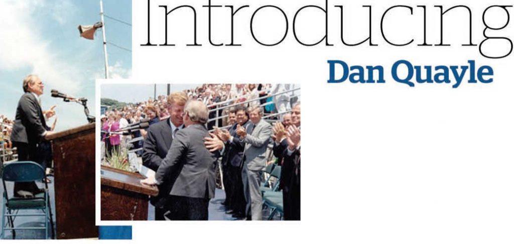 Introducing Dan Quayle