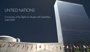 United Nations CRPD 2018 ABILITY Corps panel
