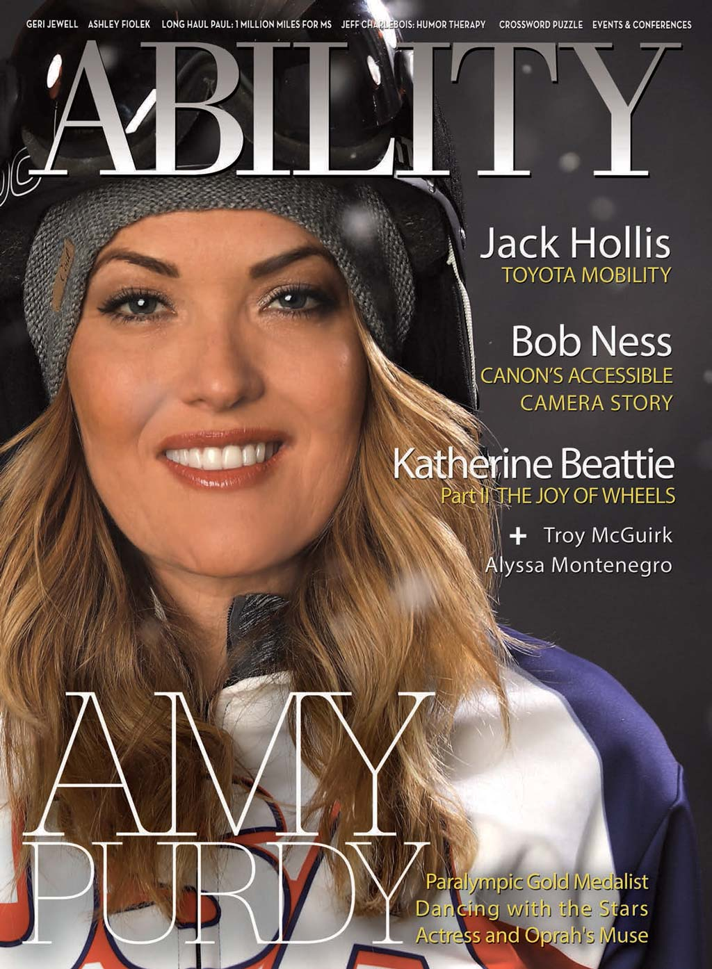 Amy Purdy Issue