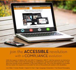 Join the accessible revolution - ABILITY Job Fair