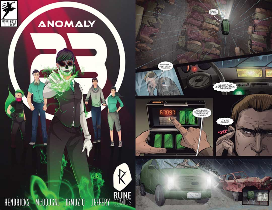 Anomaly 23 comic book