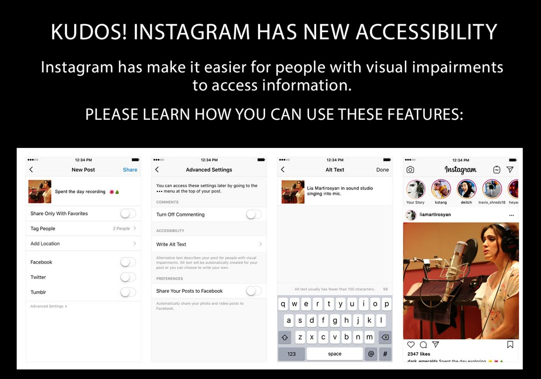 instagram accessibility features for low vision