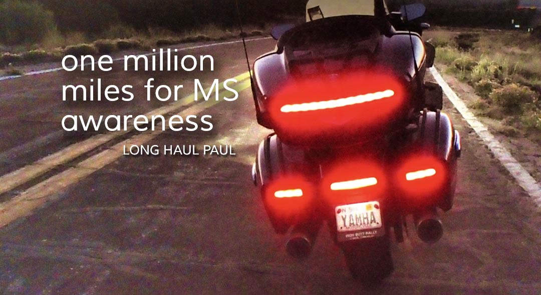 Long Haul Paul riding 1 million miles for MS awareness