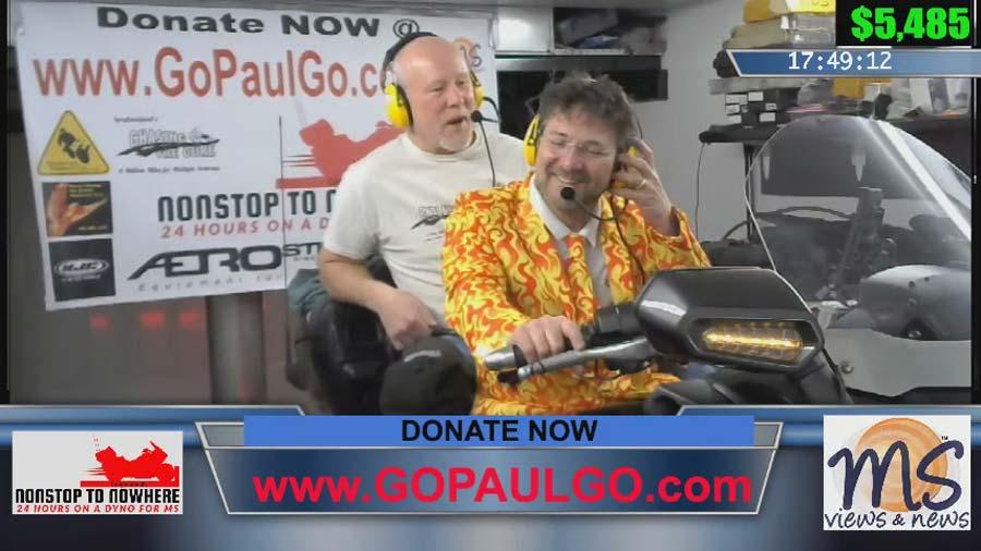 Long haul Paul fun raiser