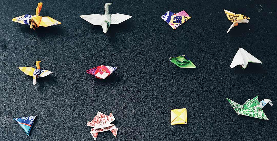 Origami Crane 664*412 transprent Png Free Download - Origami Paper ... | 552x1080