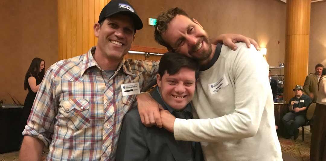 Zack with Michael Schwartz and Tyler Nilson