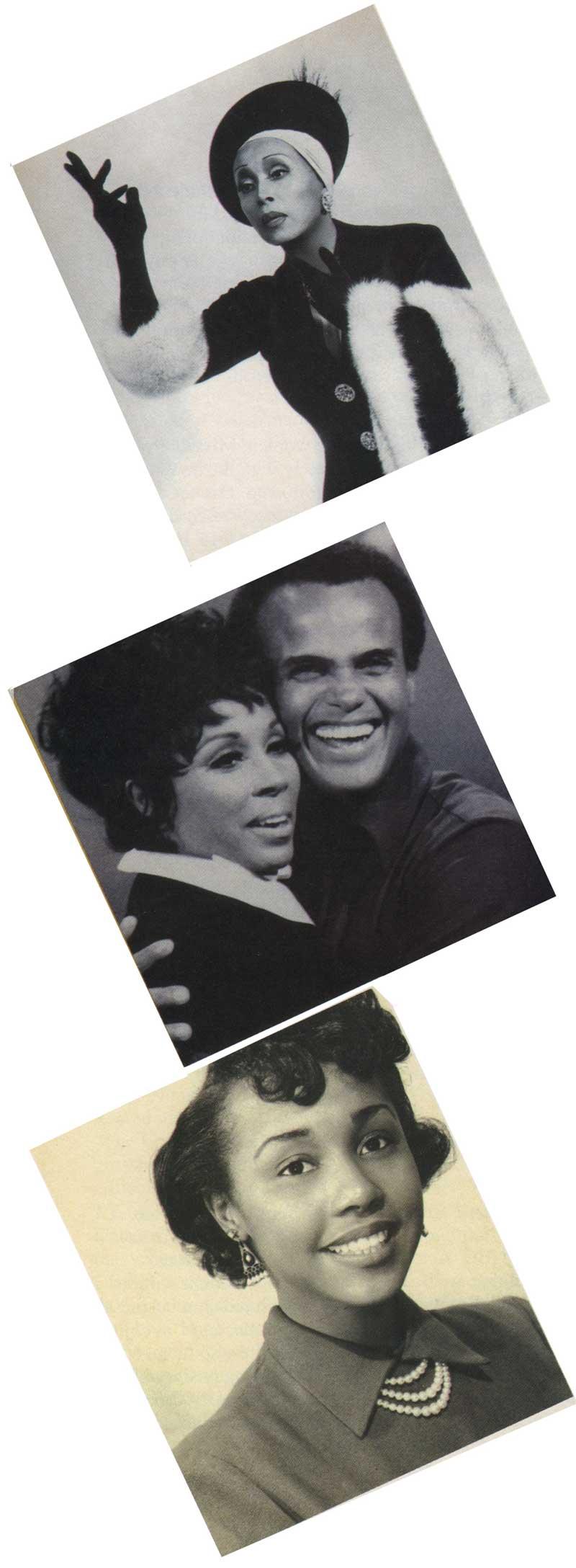 Diahann Carroll and Henry Belafonte