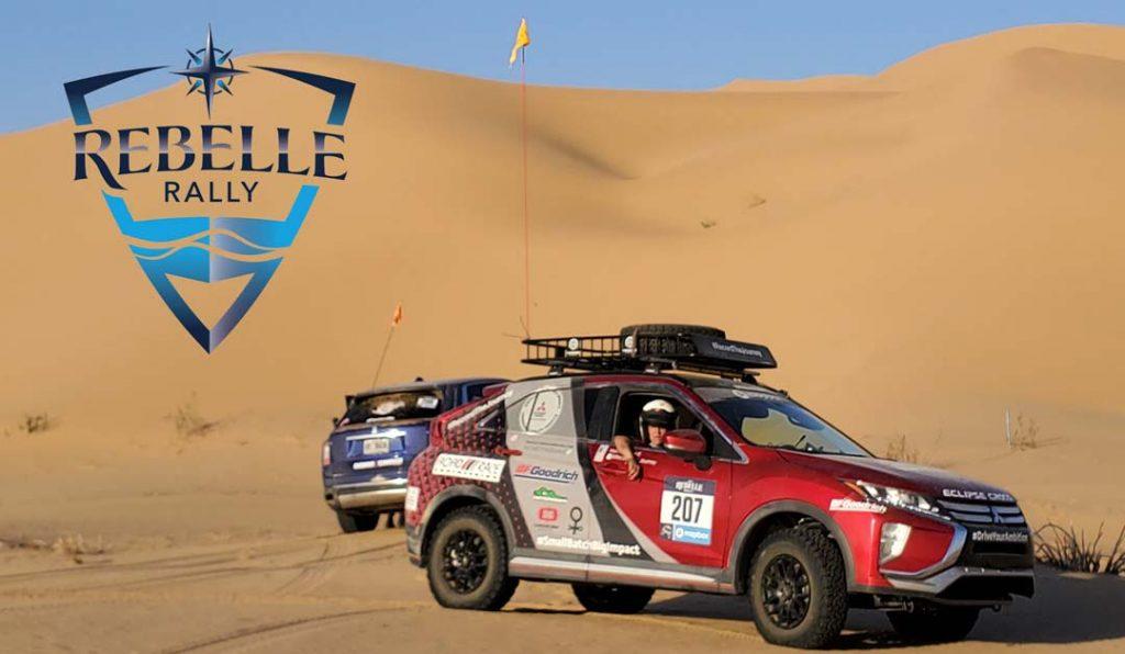 Rebelle Rally Mitsubishi Karah Behrend
