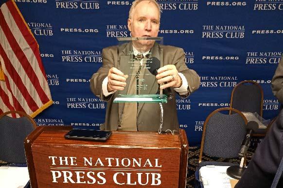 John Williams award at the National Press Club