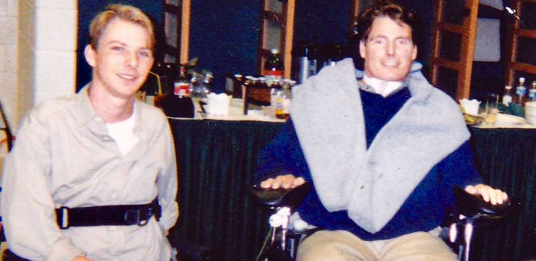 Toby Forrest and Christopher Reeve