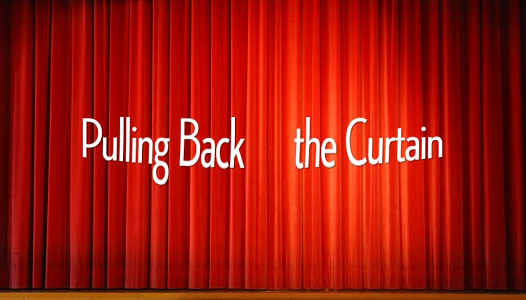 Pulllingbackthecurtain