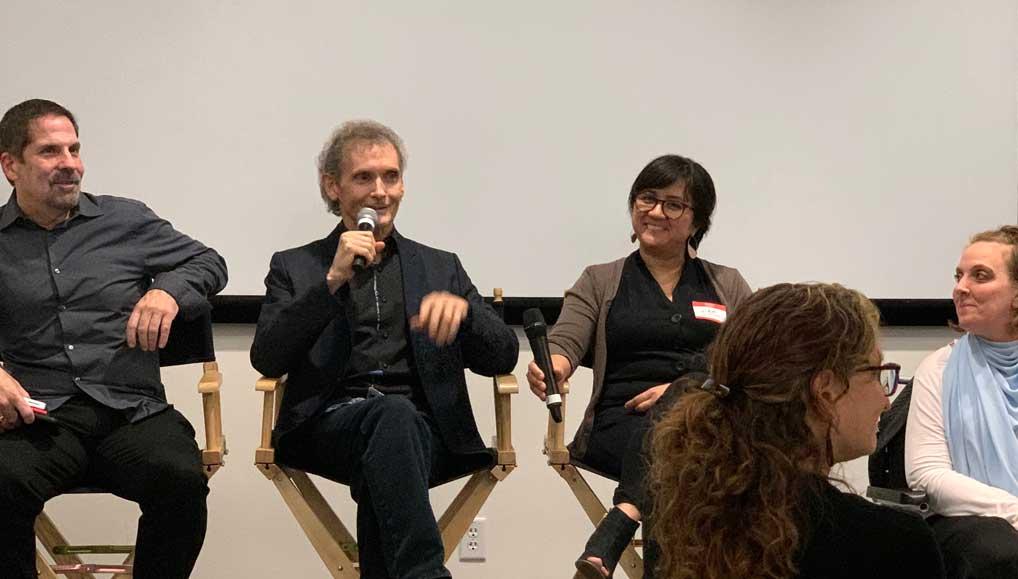 Jeffrey Shapiro, Chet Cooper, Liên Johnson and Shelley Rohe