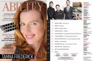 Tanna Fredrick ABILITY Magazine Issue