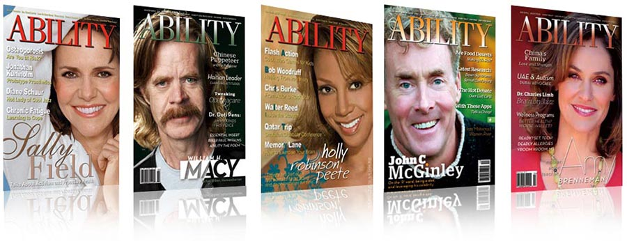 ABILITY Magazine covers