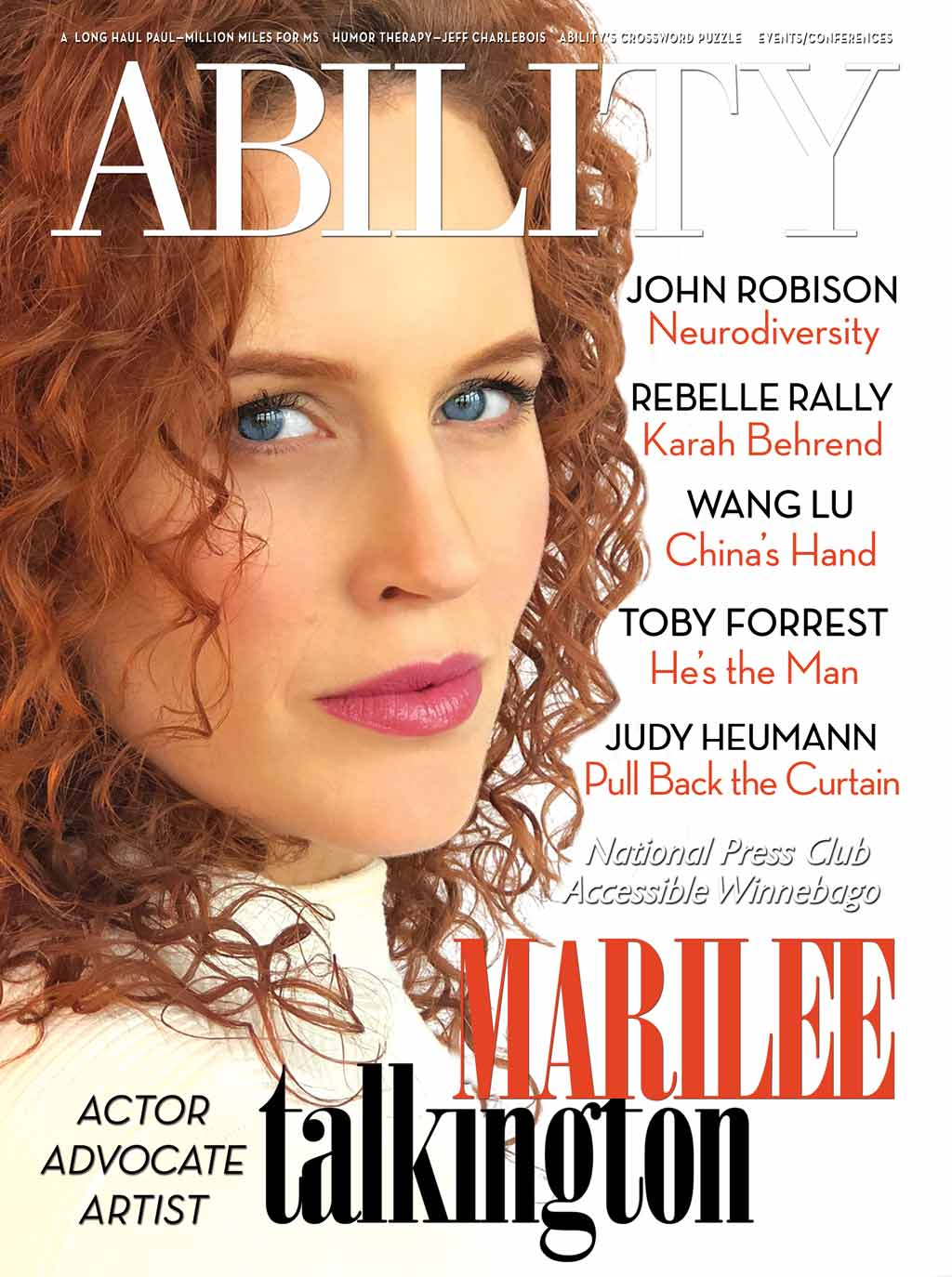 Marilee Talkington Issue
