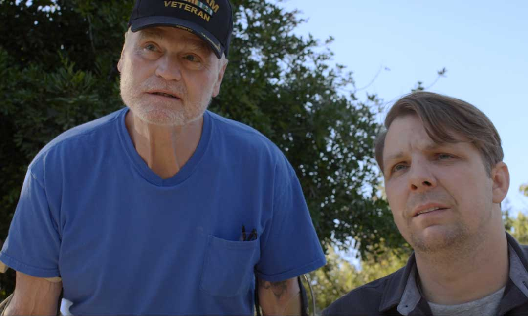John Lawson and Toby-Forrest in 'Daruma'