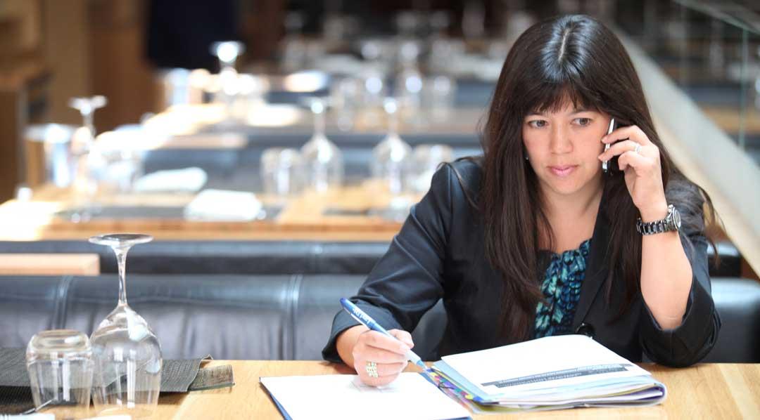 Michelle Sie Whitten always busy