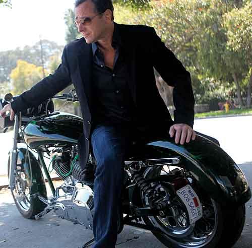 Bob Saget on Harley