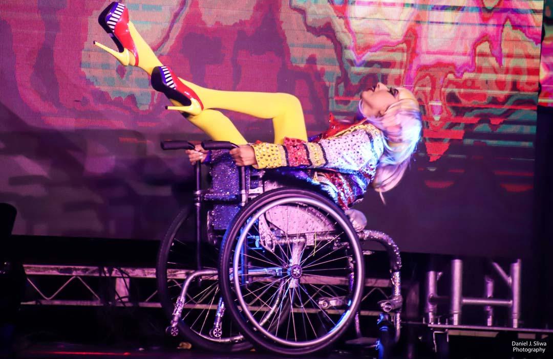 Patty St Battie in the Beauty of Burlesque Show photo by Daniel J. Sliwa