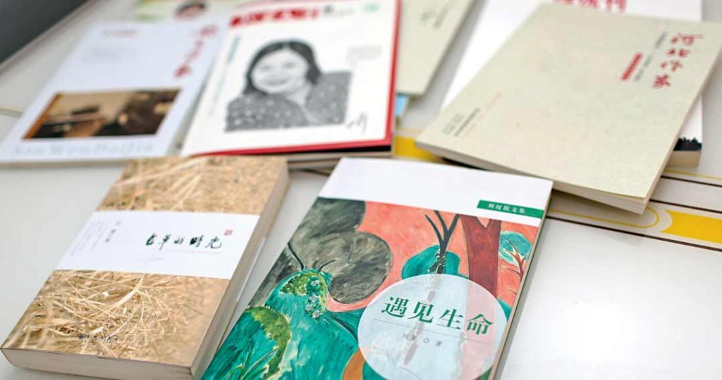 Liu Xia has written several books