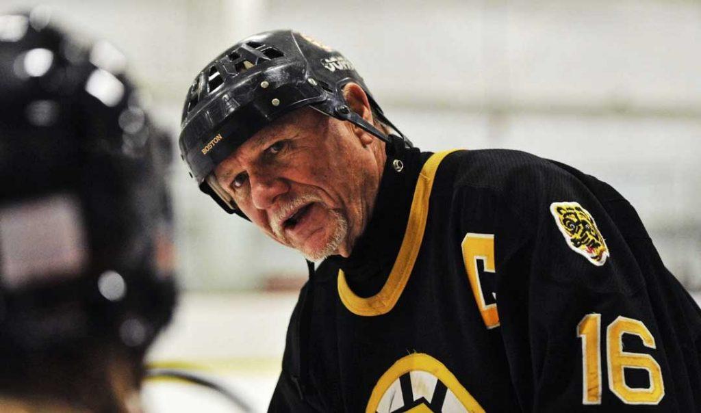Rick Middleton ambassador for Boston Bruins hockey