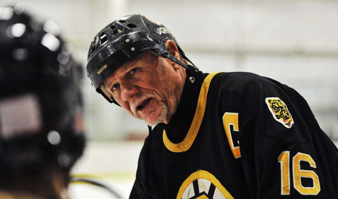 Rick Middleton ambassador for Boston Bruins hockey
