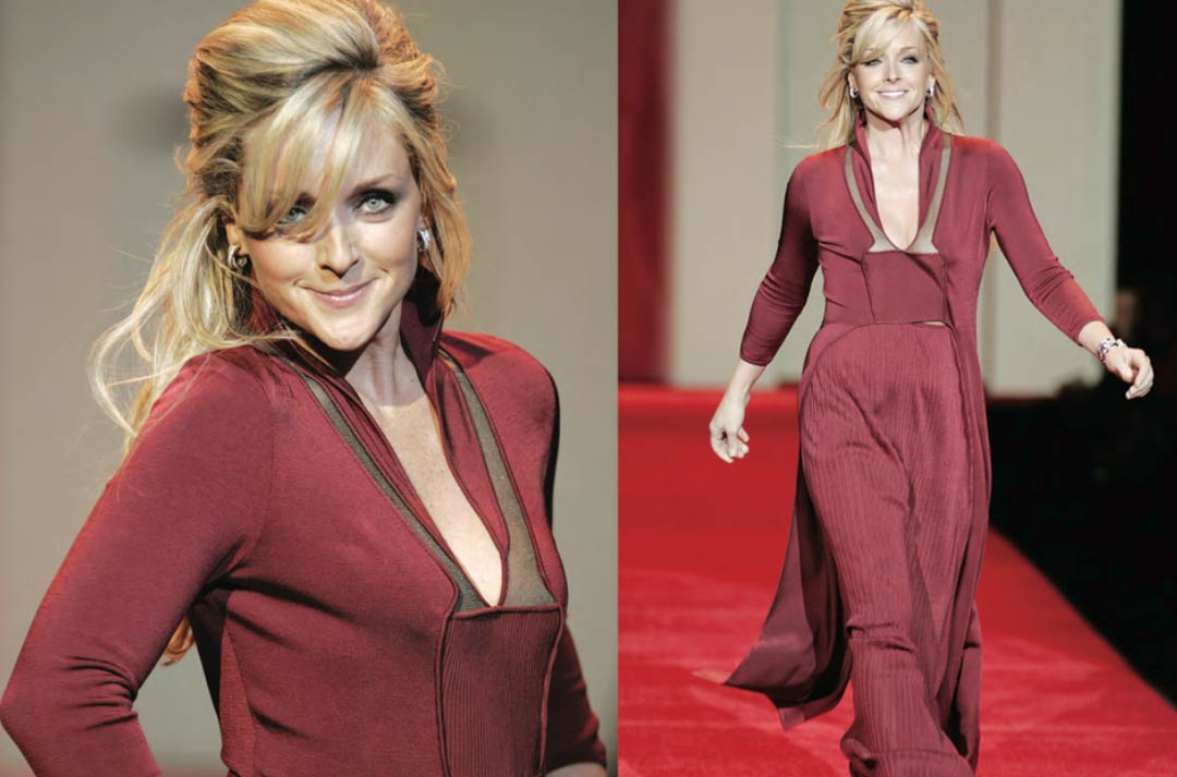 Jane Krakowski and the AdDRESS Your Heart Campaign